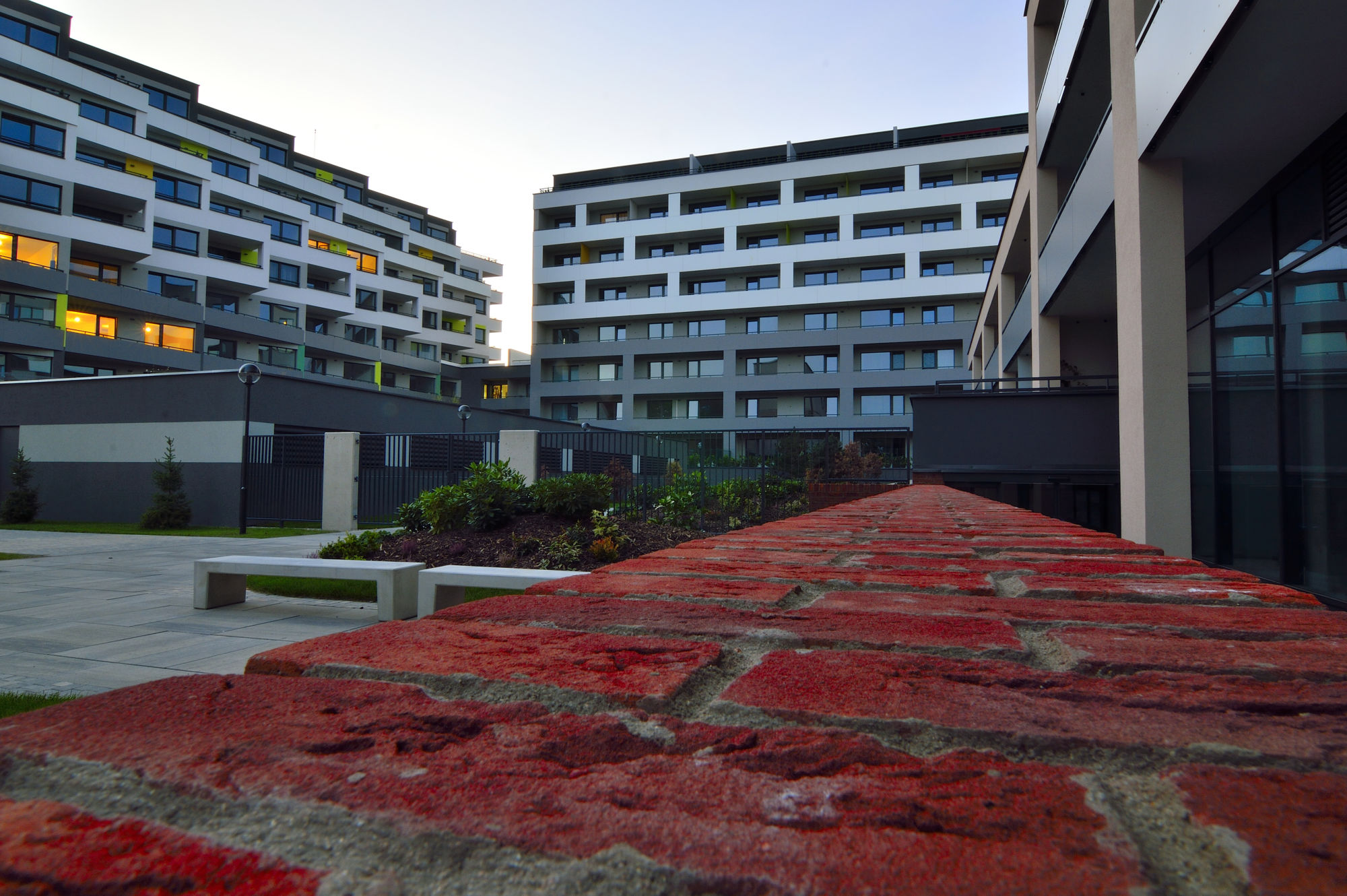 rezidencia pri radnici, novostavba